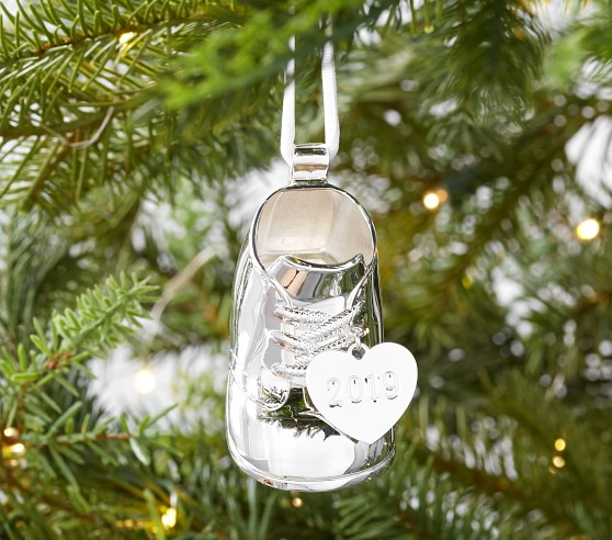 Christmas Ornament Christmas Decoration Baby Boy/'s First Ornament Handmade Christmas Gift Baby Rattle Ornament