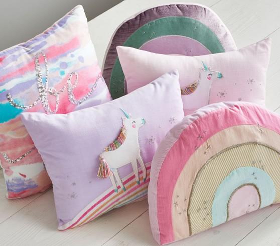 Personalized Pillow Unicorn Decor Unicorn Nursery Teen Bedroom Unicorn Birthday Unicorn Pillow Personalized Unicorn Pillow Kid Pillow