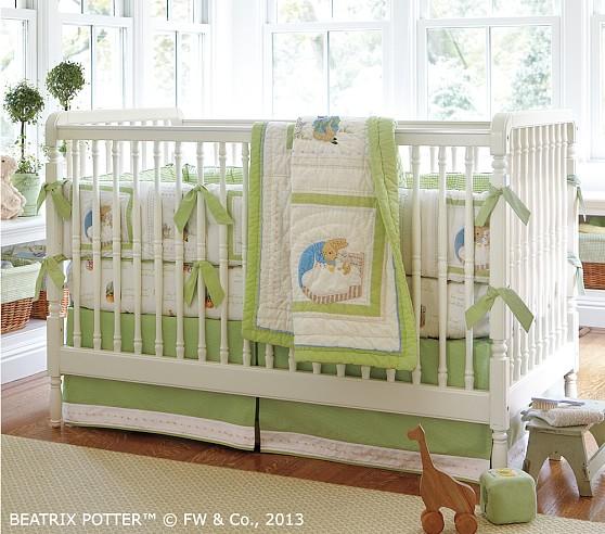 Peter Rabbit Crib Bedding Set, Peter Rabbit Baby Boy Bedding