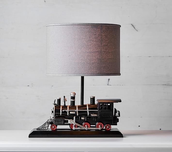Express Train Lamp Kids, Train Table Lamp