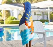 포터리반 Potterybarn Surf Crab Kid Beach Hooded Towel