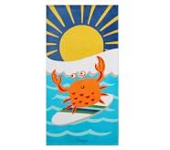 포터리반 Potterybarn Surf Crab Kid Beach Towel