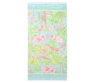 포터리반 Potterybarn Lilly Pulitzer Jungle Kids Beach Towel
