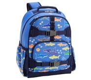 포터리반 샤크 야광 초등 백팩 Potterybarn Mackenzie Blue Bright Sharks Glow-in-the-dark Backpacks