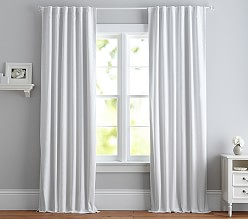 Evelyn Linen Blackout Curtain Panel