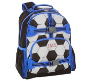 포터리반 축구 가방 (초등 선물 추천) Potterybarn Mackenzie Soccer 3D Backpacks