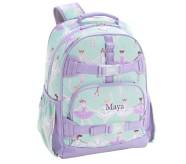 포터리반 아쿠아 글리터 발레리나 가방 (초등 선물 추천) Potterybarn Mackenzie Aqua Glitter Dot Ballerinas Backpacks