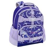 포터리반 퍼플 다이노 가방 (초등 선물 추천) Potterybarn Mackenzie Purple Dino Bones Glow Glitter Backpacks