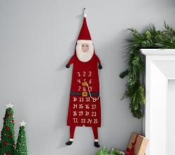 west elm x pbk Felt Santa Advent Calendar