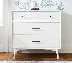 west elm x pbk Mid-Century 3-Drawer Dresser