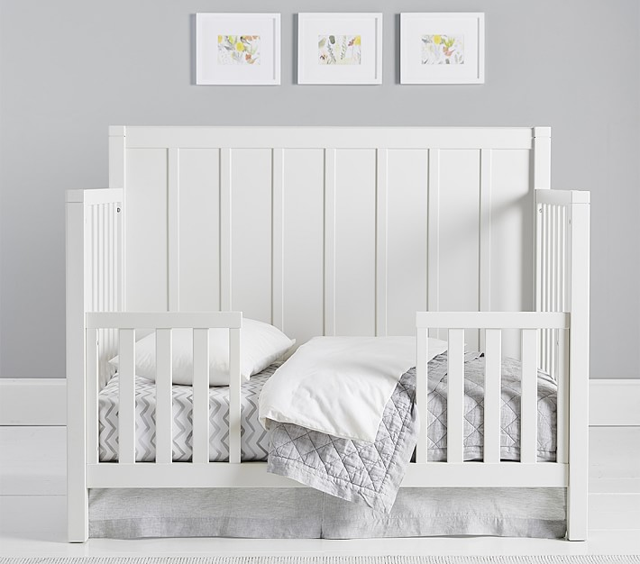 Crib Toddler Bed Conversion Kit, When To Go From Crib Toddler Bed