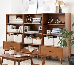 west elm x pbk Mid-Century Build Your Own Wall System