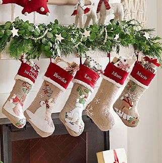 Kids Christmas Stockings Pottery Barn Kids